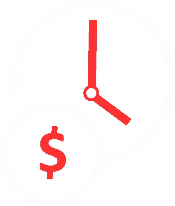 Spart Geld durch weninger Zeit vor Ort